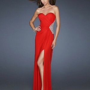 Formal Gown w/ Slit
